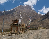 Nepal Himalayas Mustang Royalty Free Stock Photo