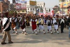 nepal nytt år royaltyfri fotografi