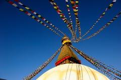 nepal pagoda Arkivbilder