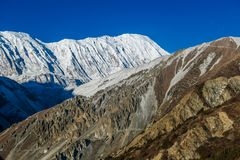 Nepal - paisagem Himalaia fotografia de stock royalty free