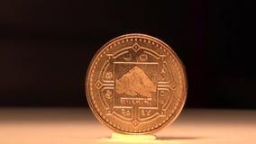 1 Nepal Paise stock footage