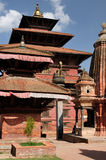 Nepal - Patan. Temples at Durbar Sqaure in Patan city, Nepal Stock Photography