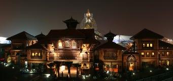 Nepal-Pavillion in der Shanghai-Weltausstellung lizenzfreie stockbilder
