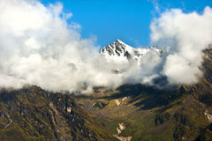 Nepal peak on Langtang trek, Nepal Royalty Free Stock Photo