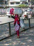 Nepal people in Kathmandu Royalty Free Stock Photo