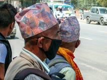 Nepal people in Kathmandu Stock Photography