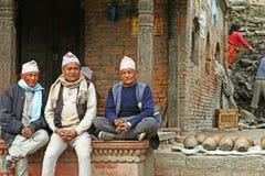 Nepal people Stock Photo