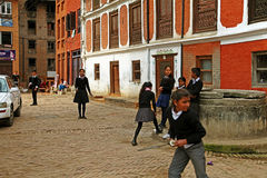 Nepal people Stock Images
