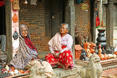 Nepal people Royalty Free Stock Photography