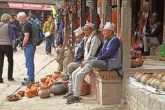 Nepal people Stock Image