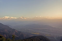 Nepal Pokhara, Fishtail peak Royalty Free Stock Photography