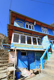 Nepal Poon wzgórza widok Obrazy Royalty Free