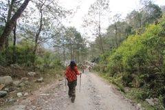 Nepal Poon wzgórza widok Obrazy Stock
