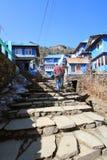 Nepal Poon wzgórza widok Zdjęcie Royalty Free