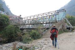 Nepal Poon wzgórza widok Zdjęcia Stock