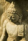 Nepal posąg buddy Fotografia Royalty Free