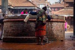 Nepal que sorprende Imagenes de archivo