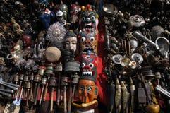 Nepal rękodzieła produkty zdjęcie royalty free