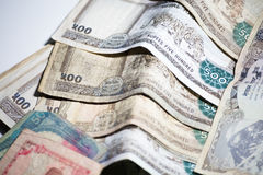 Nepal Rupee money Stock Image