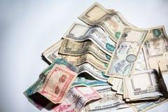 Nepal rupii pieniądze Zdjęcie Stock