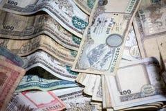 Nepal rupii pieniądze Obraz Stock