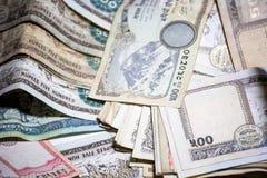 Nepal rupii pieniądze Fotografia Stock