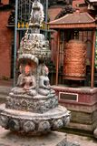 Nepal`s Kathmandu Temple royalty free stock image
