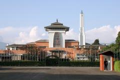 Nepal's Royal Palace. Home of King Gyanendra Bir Bikram Shah Dev royalty free stock photo