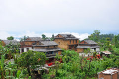 Nepal's rural landscape of the Dibble Stock Photography