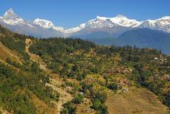 Nepal scenary fotos de stock