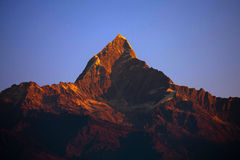 Nepal scenery Stock Image