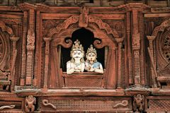 Nepal sculpture Royalty Free Stock Images