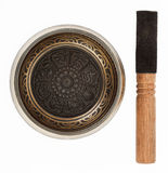 Nepal singing bowl Stock Images