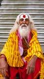 Nepal spritual man stock photos