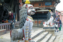 Nepal statue Royalty Free Stock Image