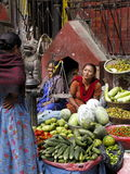 Nepal street market Stock Photography