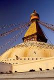 Nepal stupa dłoni Fotografia Stock