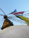 Nepal stupa. The fantastic and respectable stuba of Nepal Royalty Free Stock Images