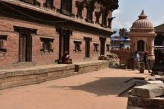 Nepal, templo de Bhaktapur fotos de archivo libres de regalías