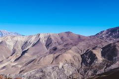 Nepal - Trek i den Annapurna strömkretsen, Himalayas arkivfoto