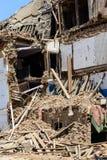 Nepal trzęsienia ziemi Fotografia Royalty Free
