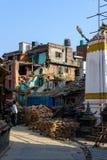 Nepal trzęsienia ziemi Zdjęcie Stock
