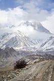 nepal väg som trekking Fotografering för Bildbyråer