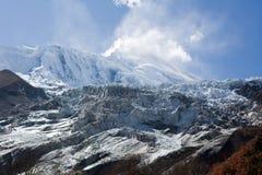 Nepal. Vizinhanças de Manaslu da montanha. Imagens de Stock