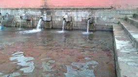 Nepal water falls royalty free stock image