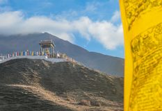 Nepal - ?wi?tynia w Muktinath, Annapurna obwodu w?dr?wka fotografia royalty free