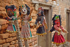 Nepalean puppets, Nepal Royalty Free Stock Images