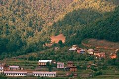 Nepales村庄! 免版税库存照片