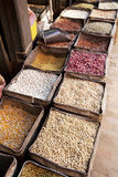 Nepalese Beans, Grains and Spices Stock Photos