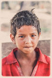 Nepalese boy portrait Stock Photo